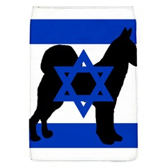 Cannan Dog Silhouette Flag Of Israel Flap Covers (L)