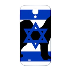 Cannan Dog Silhouette Flag Of Israel Samsung Galaxy S4 I9500/I9505  Hardshell Back Case