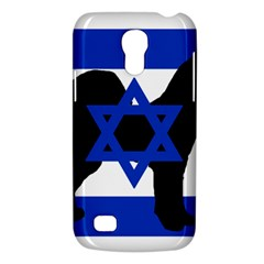 Cannan Dog Silhouette Flag Of Israel Galaxy S4 Mini
