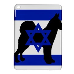 Cannan Dog Silhouette Flag Of Israel iPad Air 2 Hardshell Cases