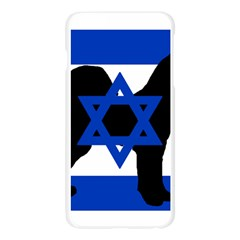 Cannan Dog Silhouette Flag Of Israel Apple Seamless iPhone 6 Plus/6S Plus Case (Transparent)