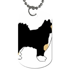Finnish Lap Silo Color Dog Tag (Two Sides)