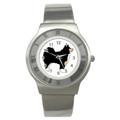 Finnish Lap Silo Color Stainless Steel Watch