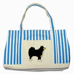 Finnish Lap Silo Color Striped Blue Tote Bag