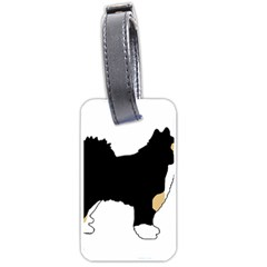 Finnish Lap Silo Color Luggage Tags (One Side)