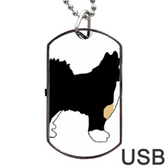 Finnish Lap Silo Color Dog Tag USB Flash (Two Sides)