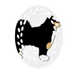 Finnish Lap Silo Color Ornament (Oval Filigree)