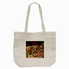 German Pinscher Puppies Tote Bag (Cream)