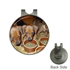 German Pinscher Puppies Hat Clips with Golf Markers