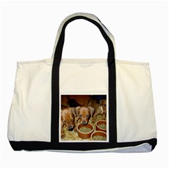 German Pinscher Puppies Two Tone Tote Bag
