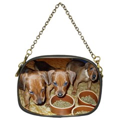 German Pinscher Puppies Chain Purses (Two Sides)