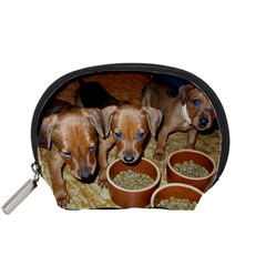 German Pinscher Puppies Accessory Pouches (Small)