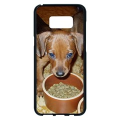 German Pinscher Puppies Samsung Galaxy S8 Plus Black Seamless Case