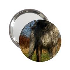 Irish Wolfhound full 2.25  Handbag Mirrors