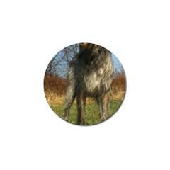 Irish Wolfhound full Golf Ball Marker (4 pack)