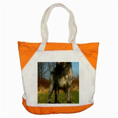 Irish Wolfhound full Accent Tote Bag