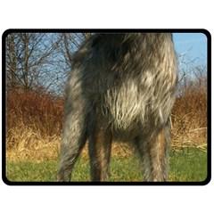Irish Wolfhound full Fleece Blanket (Large)
