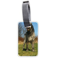 Irish Wolfhound full Luggage Tags (One Side)