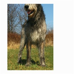 Irish Wolfhound full Small Garden Flag (Two Sides)