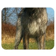 Irish Wolfhound full Double Sided Flano Blanket (Medium)