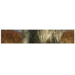 Irish Wolfhound full Flano Scarf (Large)