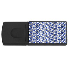 Roses pattern USB Flash Drive Rectangular (2 GB)