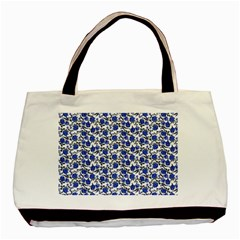 Roses pattern Basic Tote Bag (Two Sides)
