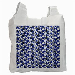 Roses pattern Recycle Bag (Two Side)