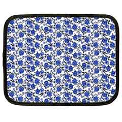 Roses pattern Netbook Case (XXL)