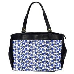 Roses pattern Office Handbags (2 Sides)