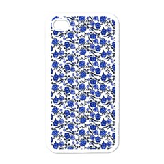 Roses pattern Apple iPhone 4 Case (White)