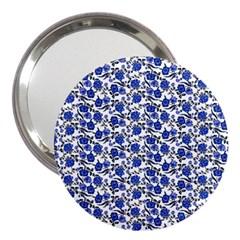 Roses pattern 3  Handbag Mirrors