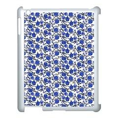 Roses pattern Apple iPad 3/4 Case (White)