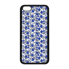 Roses pattern Apple iPhone 5C Seamless Case (Black)