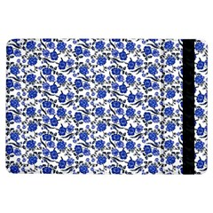 Roses pattern iPad Air Flip