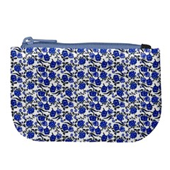 Roses pattern Large Coin Purse