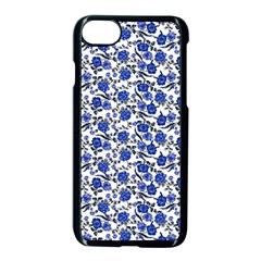 Roses pattern Apple iPhone 7 Seamless Case (Black)
