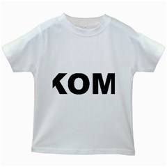 I Love My Komondor Kids White T-Shirts
