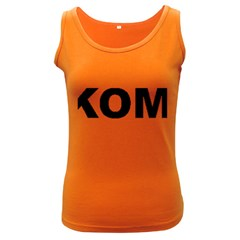 I Love My Komondor Women s Dark Tank Top