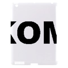 I Love My Komondor Apple iPad 3/4 Hardshell Case (Compatible with Smart Cover)