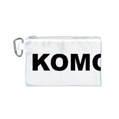 I Love My Komondor Canvas Cosmetic Bag (S)