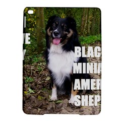 Mini Australian Shepherd Black Tri Love W Pic iPad Air 2 Hardshell Cases