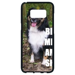 Mini Australian Shepherd Black Tri Love W Pic Samsung Galaxy S8 Black Seamless Case