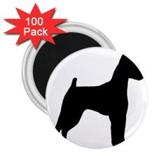 Min Pin Silo Black 2.25  Magnets (100 pack)