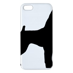 Min Pin Silo Black Apple iPhone 5 Premium Hardshell Case