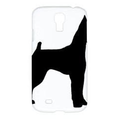 Min Pin Silo Black Samsung Galaxy S4 I9500/I9505 Hardshell Case