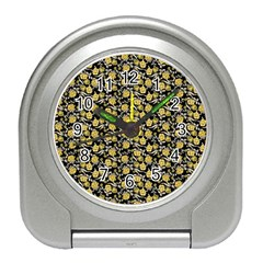 Roses pattern Travel Alarm Clocks