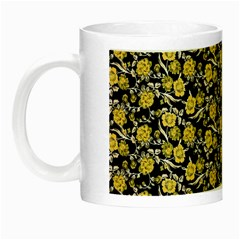 Roses pattern Night Luminous Mugs