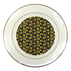 Roses pattern Porcelain Plates