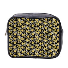 Roses pattern Mini Toiletries Bag 2-Side